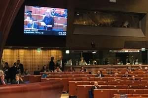 ПАСЕ приняла резолюцию по гуманитарным последствиям войны в Украине