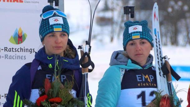 Украинка Варвинец— чемпионка Европы побиатлону