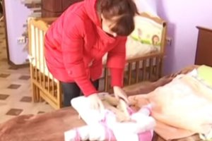 In the Lviv region 50-year-old woman gave birth to a daughter