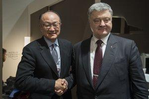 Порошенко провел переговоры с президентом группы Всемирного банка