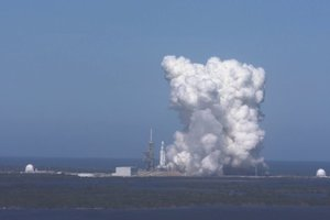SpaceX испытала мощнейшую в мире ракету: появилось видео