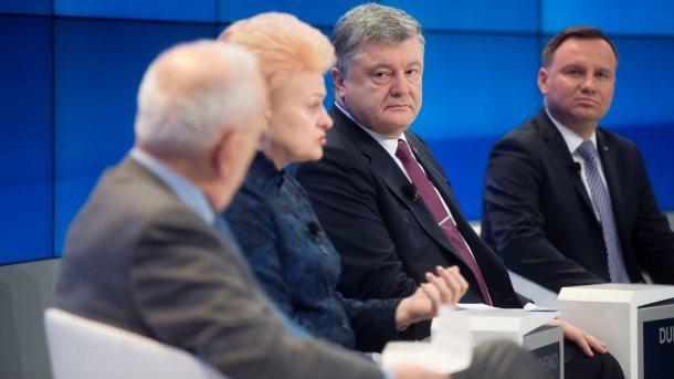 Руководитель МВФ призвала Порошенко ускорить процесс проведения финансовых перемен