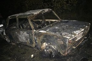 Bukovina woman out of jealousy burned the car