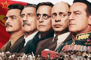 """Несмотря на запрет, в России показали скандальную ленту """"Смерть Сталина"""""""