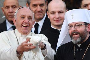 """Папа Римский признался, что начинает и заканчивает день """"по-украински"""""""