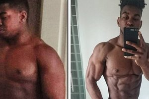 After infidelity beloved man went to the gym: now he's pumped up pretty boy
