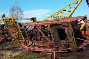 The death of people under the debris of the crane in the Carpathian region: details from police