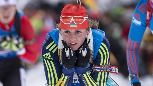 Биатлон: Варвинец стала лучшей спортсменкой Украины всередине зимы