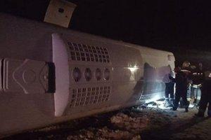 Под Ростовом-на-Дону разбился автобус, есть жертвы