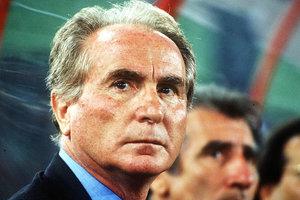 Умер бывший главный тренер сборной Италии по футболу