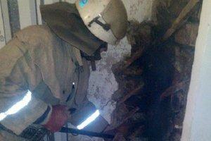 Под Киевом в горящем доме нашли мертвого мужчину