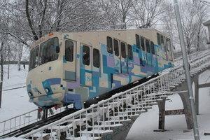 Фуникулер в Киеве снова заработал