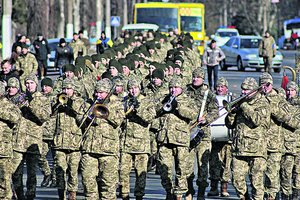 В Одессе организовали марш памяти воинов АТО и Второй мировой