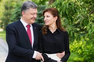 Петр Порошенко нежно поздравил жену Марину с днем рождения