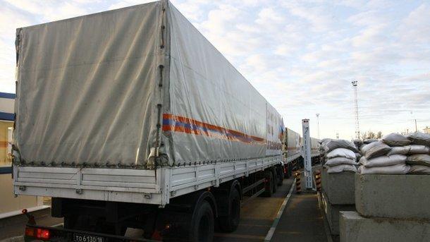 Украинская агентура поведала, что привез наДонбасс очередной русский «гумконвой»