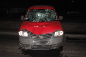 In Chernivtsi region on teen parents ' car killed pedestrian