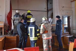 В Днепре горела больница: эвакуировались сотни человек