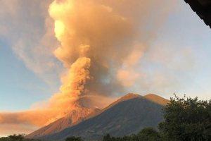 В Гватемале ожидают извержение вулкана: идет эвакуация