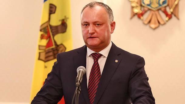 Засвою страну: Додон обещал недопустить дестабилизации ситуации вМолдавии