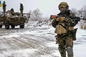 В зоне АТО на Приазовье погиб украинский боец