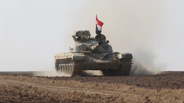 Ирак объявил оначале операции против ИГ* уграницы сСаудовской Аравией