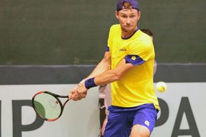 Ukraine defeated Sweden in the Davis Cup match
