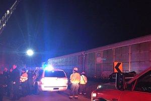 Столкновение поездов в США: число пострадавших возросло