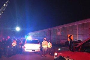 Число пострадавших из-за столкновения поездов в США превысило 100 человек