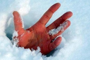 In the Carpathian region died from hypothermia male