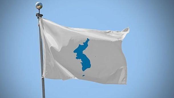 Флаг объединенной Кореи