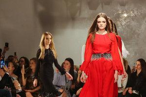Дизайнер Анастасия Иванова представила в Киеве новую коллекцию