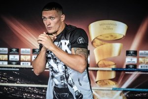 Oleksandr Usyk of the fight with the Russian: