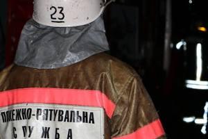 Night in Kiev burned a house