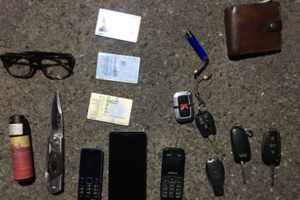 Near Kiev detained the hijacker of luxury cars