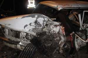 In Bukovina drunk driver made an accident: a young man died at the hands of doctors