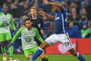 Schalke without the help of Linnets reached the semi-finals of the German Cup