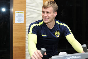 The Ukrainian football player has discovered a heart problem
