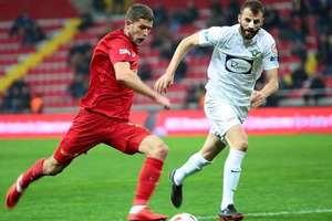 Kravets scored his first goal in Turkey the team Selezneva