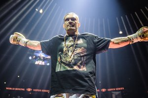 Oleksandr Usyk made against the decision of the President of the IOC