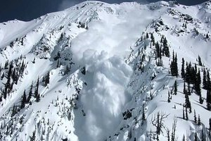 In the Carpathians there remains the risk of avalanche: five have gone down