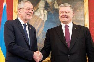 Порошенко встретился с президентом Австрии: опубликованы фото