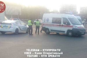 Injured in road accident in Kiev, the guy died in the hospital