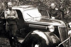 В Украине продают немецкий лимузин эпохи Адольфа Гитлера