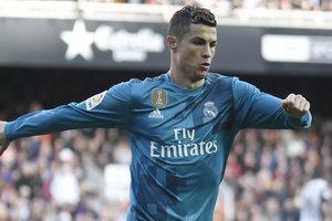Cristiano Ronaldo named