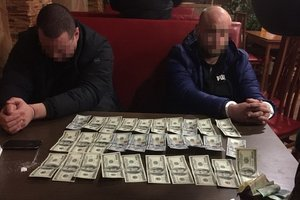 Volyn Sbushnik caught on a bribe: share photos