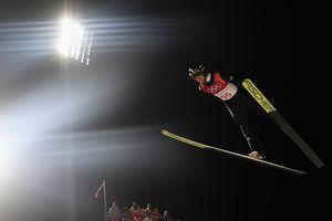 22-летний немец стал Олимпийским чемпионом по прыжкам с трамплина