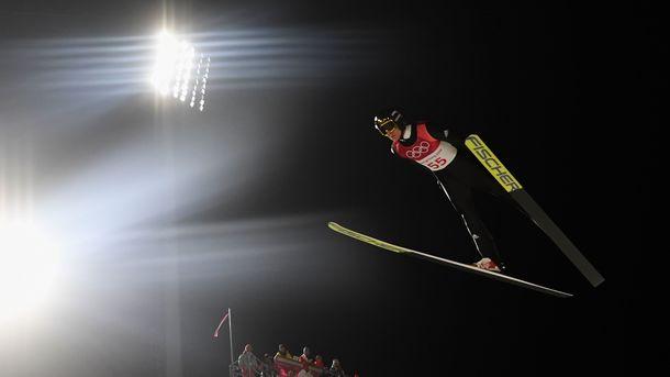 Германец  Веллингер одержал победу  олимпийский турнир попрыжкам страмплина