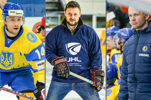 In Kiev will be held a master class with the legendary Ukrainian hockey players