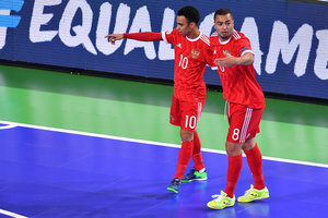 Russia became the bronze medalist of the European championship of Futsal