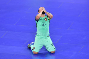 Portugal became the first European champion, scoring the decisive goal with 56 seconds before the end of the match